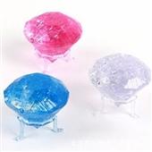 益智玩具_风靡3d立体水晶拼图diy创意礼品益智玩具 水晶钻石 三色 -