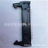 连接器-2.54MM间距直针40P,DC2 牛角插座-连接器尽在-深圳市...