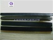 连接器-双排座2.54mm间距 2*40p 针座-连接器尽在-上海信敬电...