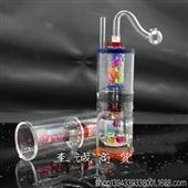层亚克力管_[ 2代2层亚克力管 ] 新款可拆卸盖静音塑料 -