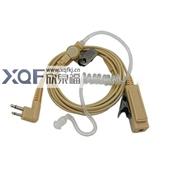 对讲机-对讲机肉色空气导管耳机 铁丝网PTT 肤色米黄色真空透明导管降噪-对讲机...