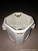 塑料接线盒_pvc塑料接线盒 86hs-80中穿筋 一箱起批 -
