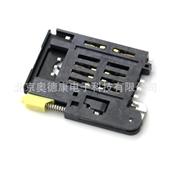 连接器-原装现货全新SIM卡座抽屉式自弹式弹出式MOLEX连接器091228-3...