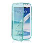 手机保护套-三星N7100 翻盖 tpu 双面透色保护套 tpu保护套 手机套 ...
