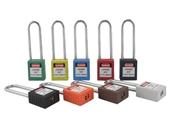 挂锁-Bovii保卫工程塑料安全挂锁 1002长梁挂锁 加长挂钩安全锁-挂锁尽在...