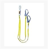 坠落防护-霍尼韦尔1004590A双叉缓冲系绳|双挂钩安全绳|保险带|进口安全绳...