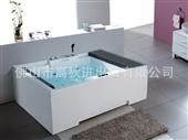 亚克力浴缸_佛山工厂直销豪华高档双人亚克力浴缸工程批发bt2059 -