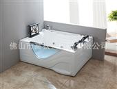 浴缸-高狄佛山工厂直销豪华高档冲浪按摩双人亚克力浴缸工程批发BT2089-浴缸尽...