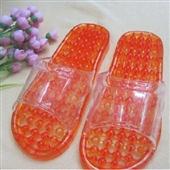 按摩防滑拖鞋_透明圆珠水晶拖鞋/按摩防滑拖鞋 按摩脚底 促进血液循环 -
