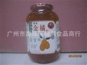 果肉茶_韩国 连通蜂蜜金橘茶 橘子果肉茶 1150g*12 吸烟人士佳品 -