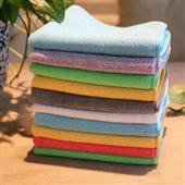 不沾油洗碗巾_植物纤维不沾油洗碗巾 抹布 多功能洗巾超细纤维批发 -