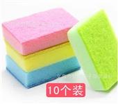 海绵百洁布_海绵百洁布 高效海棉洗碗块 洗碗布(10个装) -