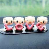 汽车内饰_love猪 汽车摆件汽车内饰 可爱猪猪 q版(4个价格) -