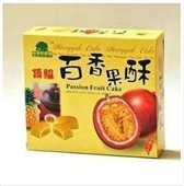 果子町百香果酥_-百香果酥 顶级 百香果酥 12盒一箱 -