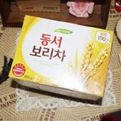 韩国大麦茶_韩国进口东西大麦茶 保健茶清热解暑助消化 30袋实惠装 -