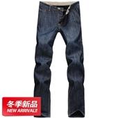 加绒牛仔男裤_加厚保暖新款大码加绒牛仔男裤25-79 -