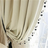 窗帘-双面哑光遮光布窗帘布料 隔热保暖 工装家用 柯桥厂家直销-窗帘尽在...