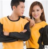 保暖上衣-黄金甲升级版加绒保暖内衣男女加厚保暖衣套装厂家直销一套代发-保暖上衣尽...