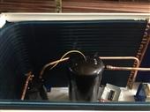 保鲜冷藏设备-三洋箱式一体10P机组 三洋10匹保鲜冷冻制冷机组  保鲜库制冷机...