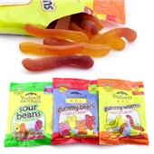 糖果、巧克力类-美国热销进口糖果零食 果果品牌水果 软糖71g 儿童休闲食品批发...