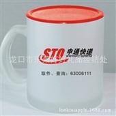 批发采购杯子-厂家批发玻璃磨砂杯,广告杯,马克杯,可印刷LOGO及二维码扫描批发...