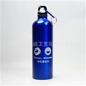 批发采购运动水壶、折叠水袋-(单色免费印刷)专业生产铝运动水壶(750ML)批发...