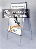 单面铝合金海报架_杭州海报架 单面铝合金海报架批发 双面海报架 钛金海报架生产厂 -