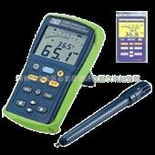 温湿度计-TES1364台湾泰仕数字式温湿度计TES-1364记忆型温湿度计TE...
