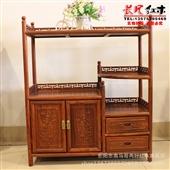 东阳红木家具_茶水柜现代 餐边柜 红木中式餐边柜 东阳红木 -