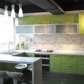 地柜-成都厂家直销 时尚uv板橱柜 整体厨房橱柜定制批发 新款上架-地柜尽在阿里...