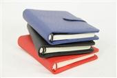 笔记本、记事本-得力 3152 皮面本 7寸 活页记事本 效率手册 活页笔记本-...