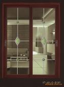推拉门-欧德克推拉门样式新颖,做工精细  卧室、壁橱、书柜、客厅的首选-推拉门尽...
