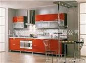 不锈钢整体橱柜_不锈钢整体橱柜 专业创意装潢设计 客厅效果图 -
