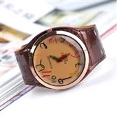 进口手表_2013新款铅笔休闲时尚漆皮大进口pu皮手表外贸热销款批发 -