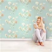 美式田园壁纸_供应批发鲁斯特墙纸 美式田园壁纸 凌波 进口 品牌壁 -