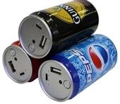 移动电源-易拉罐卡通移动电源 便携创意百事雪碧啤酒充电宝 淘宝货源厂家-移动电源...