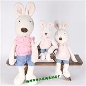 其他公仔、玩偶、娃娃-新款SG314粉衣连帽款 正品防伪 lesucre 砂糖兔...