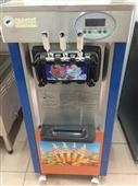 软冰淇淋机_三色318软冰淇淋机商用冰淇淋机雪糕机 -