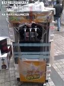 冷冻食品加工设备-广绅冰淇淋机|冰激凌机|雪糕机|立式三色软冰淇淋机BJ188C...