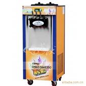 休闲食品加工设备-上海奶茶设备批发/BJ418CR立式冰淇淋机—三色冰淇淋机-休...
