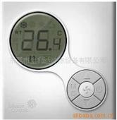 """空调温控器_供应江森t6334""""圆月蓝光""""中央空调房间温控器 -"""