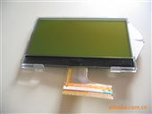 lcd模块_lcd模块128×64点阵 / 纯绿led背光 /st7565r 型号06b00 -