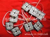 发光字模块_led35*35点阵铁皮外露3528超高红光发光字模块 -