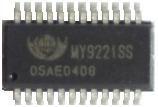 恒流驱动器_供应my9221内建16位调控(rgbx4)led恒流驱动器 -