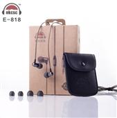 耳机-供应 新款okcsc E818 入耳式 动圈金属耳机 mp3 mp4电脑平...
