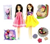 女孩玩具_diy组合洋娃娃圣诞蛋糕组合女孩玩具2502 -
