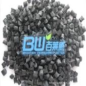 改性塑料_供应改性塑料 尼龙66塑料 黑色玻纤增强30% 耐磨损 -